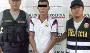 Detienen a integrante del brazo armado de Sendero Luminoso en Huánuco