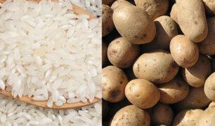 Investigación advierte consumo excesivo de pan, arroz y papa en los peruanos