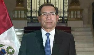 Vizcarra dijo que no apoyará proyecto de bicameralidad por haber sido 'desnaturalizado' por el Congreso