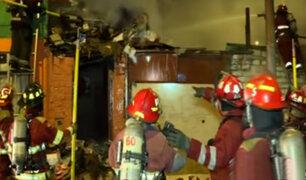 San Miguel: voraz incendio consumió depósito clausurado