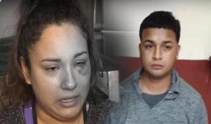 La Victoria: mujer denuncia que fue salvajemente agredida por su pareja