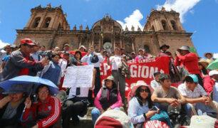 Maestros retoman hoy huelga indefinida en Cusco