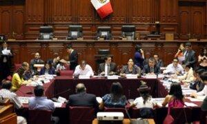 Comisión de Constitución aprobó dictamen para reforma del Consejo Nacional de la Magistratura