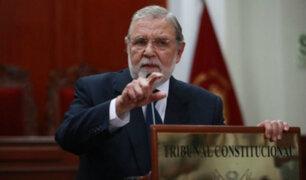 TC declaró inconstitucional modificación de cuestión de confianza