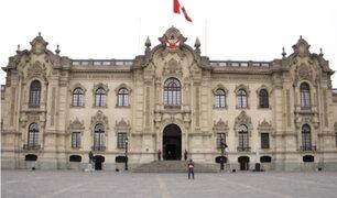 Palacio de Gobierno: Martín Vizcarra se reunió con voceros de bancadas políticas