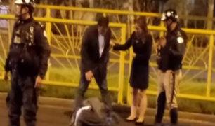 La Victoria: conductor atropelló a joven y se da a la fuga