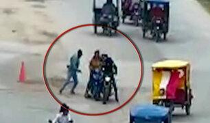 Moyobamba: delincuentes asaltan a mujeres que llevaban 80 mil soles