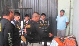 Frustran ingreso de marihuana dentro de pescados al penal de Chimbote