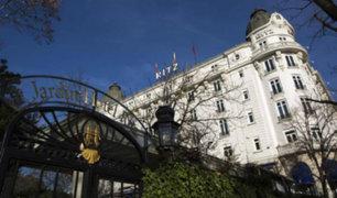España: Un muerto y 11 heridos dejó derrumbe del Hotel Ritz
