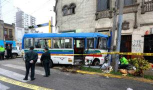 Velan restos de emolientero atropellado por cúster pirata en avenida Arenales