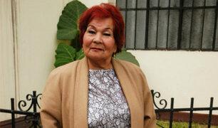 Restos de Carmencita Lara serán enterrados este jueves en camposanto de Puente Piedra
