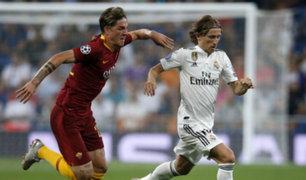 Champions League: Real Madrid venció 3-0 a la Roma