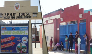 Chiclayo: docente que intentó violar a un escolar sigue prófugo