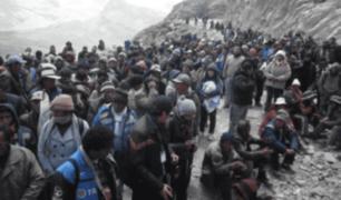 Ayacucho: comuneros paralizan obras de Minera Catalina Huanca