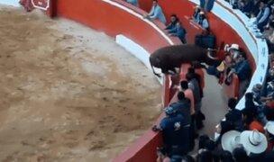 Cajamarca: toro salió del ruedo y corneó a varias personas en feria patronal de Chota