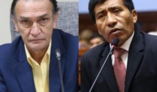 Centro de Lima: Héctor Becerril y Moisés Mamani recibieron arengas de rechazo