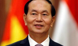 Presidente de Vietnam falleció este viernes a los 61 años