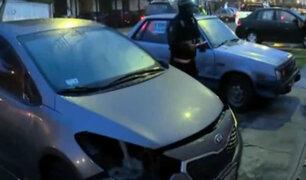 Pueblo Libre: desconocidos desmantelan moderno auto en zona residencial