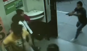 SMP: delincuente armado asalta agente bancario