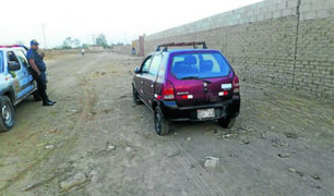 Chincha: roban vehículo a empresario en la puerta de su vivienda