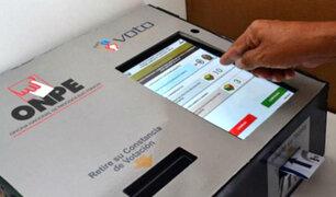Municipales 2018: Sepa cómo funciona el voto electrónico