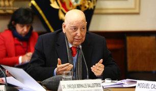 Constitucionalistas se presentaron en el Congreso para exponer sobre la bicameralidad