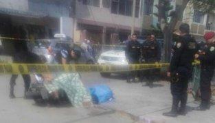 Asesinan a dos personas a balazos en Trujillo por presunto ajuste de cuentes