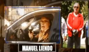 Empresario Manuel Liendo amenaza con arma de fuego a conductor