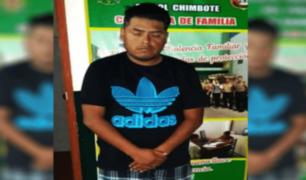 Chimbote: hombre intentó estrangular y violar a su pareja