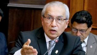 Pedro Chavarry convoca a Junta de Fiscales Supremos para hoy