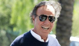 Julio Iglesias por partida doble: celebró su 75 cumpleaños y 50 años de vida artística