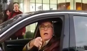 Reapareció sujeto que amenazó con arma de fuego a otro conductor
