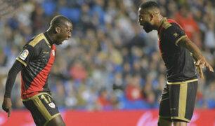 España: Luis Advíncula marcó su primer gol con Rayo Vallecano