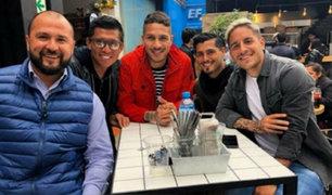 Paolo Guerrero se reunió con jugadores de Alianza Lima
