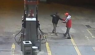 Huaral: detienen a peligrosos delincuentes tras asalto a grifo