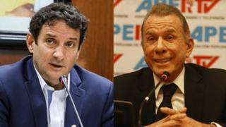 Reacciones por debate entre Renzo Reggiardo y Ricardo Belmont
