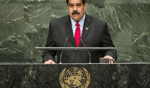 Estados Unidos: Nicolás Maduro se victimizó en la Asamblea General de la ONU