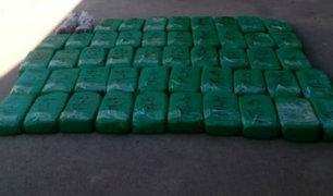 Junín: 50 kilos de droga fueron incautados tras operativo