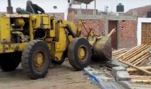 Punta Rocas: derriban cerco que dividía a vecinos de comerciantes