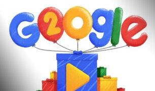 El buscador Google festeja sus 20 años de creación