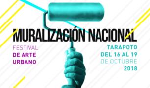 Pintarán murales en calles de Tarapoto durante festival de arte urbano