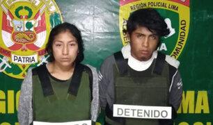 Huachipa: capturan a padres acusados de asesinar y quemar a bebé de 11 meses