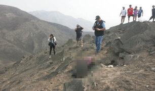 Trasladan a la morgue cuerpo de bebé asesinada y quemada por sus padres