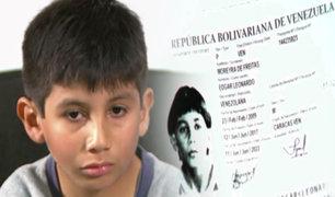 Niño venezolano con problemas neurológicos pide ayuda para encontrar su pasaporte