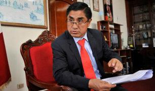 Congreso: César Hinostroza pidió disculpas al país por audios difundidos