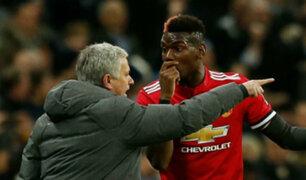 Distanciamiento entre Mourinho y Pogba ha remecido el Manchester United