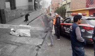 San Martín de Porres: asesinan de dos balazos a mujer cerca a la avenida Perú