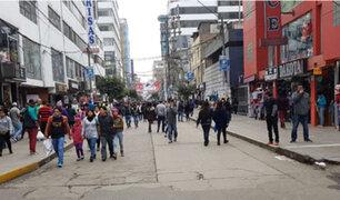 'Moñon' en su reino: ex recluso Julio Ortega Siancas toma calles de Gamarra