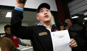 Denuncian falsificación de firmas por parte de partido que postula a Daniel Urresti