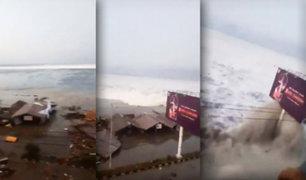 Tsunami en Indonesia: marea gigante golpea isla de Célebes luego de terremoto 7,5 grados